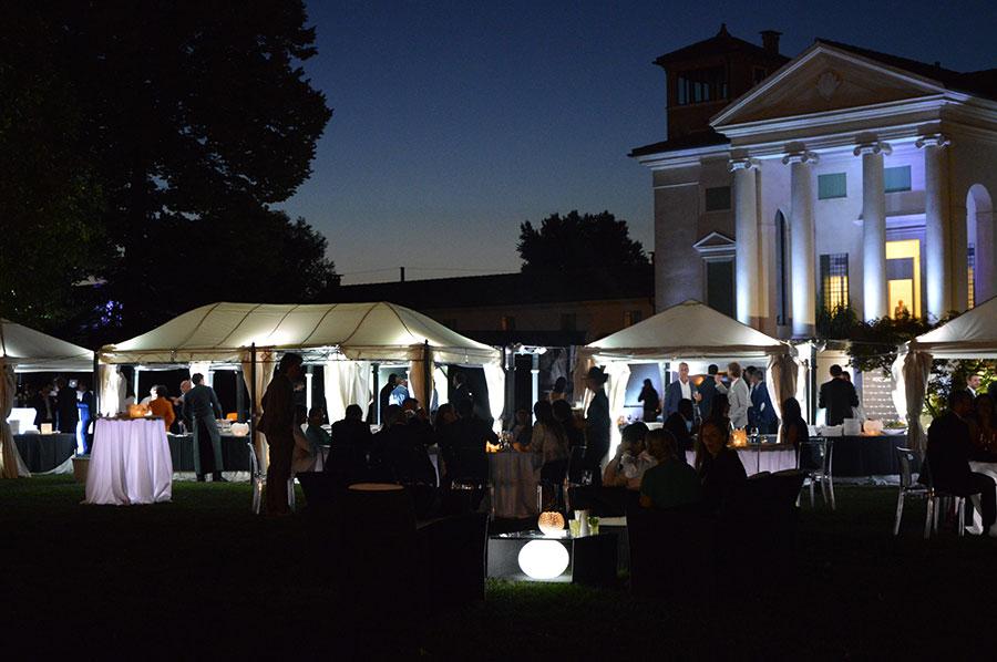 Villa bonin maistrello diamanti in un party.. scintillante